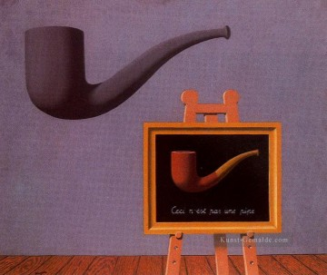 Surrealismus Werke - the two mysteries 1966 Surrealist