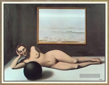 Surrealismus Werke - bather between light and darkness 1935 Surrealismus