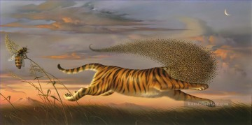 Surrealismus Werke - ein Tiger Surrealismus