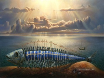 Surrealismus Werke - modern contemporary 15 surrealism fish
