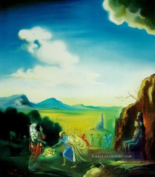 Surrealismus Werke - Moses and the Pharaoh Surrealismus