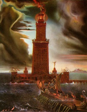 Surrealismus Werke - The Lighthouse at Alexandria 2 Surrealismus