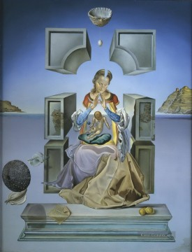 Surrealismus Werke - The Madonna of Port Lligat Surrealismus