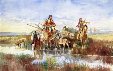 marion - Letzte Chance oder Büste 1900 Charles Marion Russell Indianer