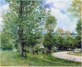 Alfred Sisley Kuh Weide in der Nähe von Louveciennes 1875
