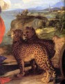 Bacchus und Ariadnedetail Tiziano Tizian Panther