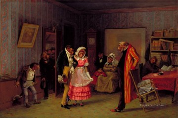 Tier Werke - l The Runaway Spiel William Holbrook Beard Affen in Kleidung