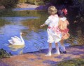 Pothast Edward The Swan Vögel