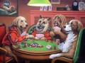 Dogs Playing Poker 3 Lustiges Haustiere
