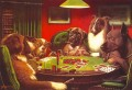 dogs playing poker 5 Lustiges Haustiere
