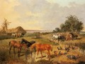 Country Life John Frederick Herring Jr Pferd