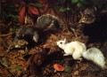 Squirrels known as The White Squirrel William Holbrook Beard Tier