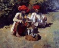 The Snake Charmers Bombay Araber Edwin Lord Weeks