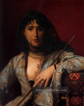 jean - Veiled Circassian Lady Arabien Jean Leon Gerome