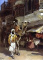 Man Leading a Camel Araber Edwin Lord Weeks