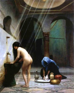 jean - Moorish Bath Arabien Jean Leon Gerome