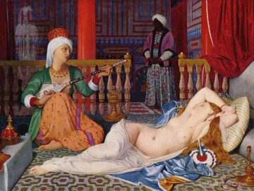 Odalisque with Slave Arabs Ölgemälde