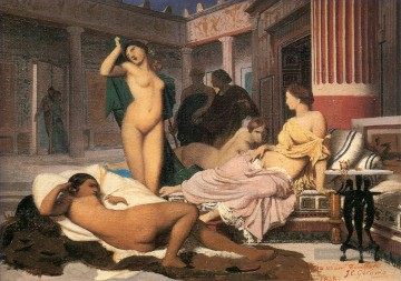 Greek Interior sketch Arabien Jean Leon Gerome Ölgemälde