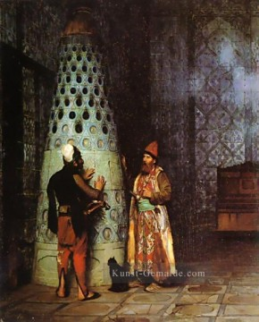 Waiting for an Audience Arabien Jean Leon Gerome Ölgemälde