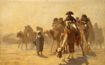 Napolean and his General Staff in Egypt Arabien Jean Leon Gerome Ölgemälde