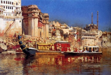 The Barge Of The Maharaja Of Benares Araber Edwin Lord Weeks Ölgemälde