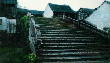 Chinesische Werke - The Place Played in Childhood Chinese Chen Yifei