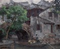 Southern Chinese Riverside Town 2002 Chinese Chen Yifei