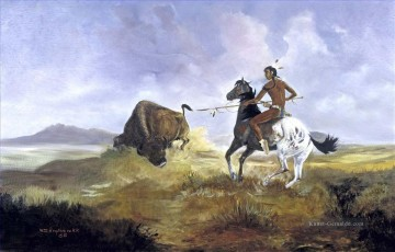 klassisch Werke - Buffalo Kill Indian courser