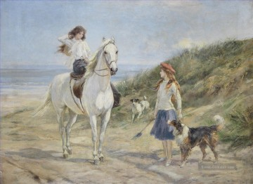 Jagd Werke - Heywood Hardy Holiday time cynegetic