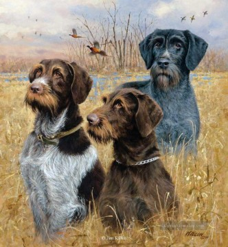 Jagd Werke - hounds and mallards cynegetics