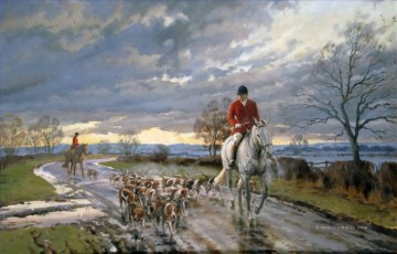 Jagd Werke - hunters and Hunde on the way