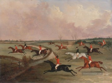 Jagd Werke - John Dalby The Quorn Hunt in Full Cry Second pferde after Henry Alken