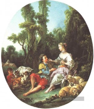 klassisch Werke - Are They Thinking About the Grape Francois Boucher Klassik Rokoko