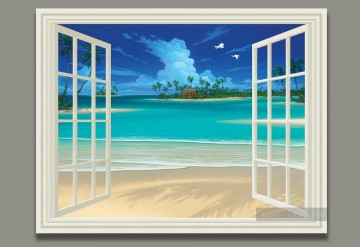 meer - Seascape Painting Sommer Breeze Zauber 3D