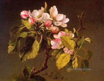 Klassik Blumen Werke - Apple Blossoms Blumenmaler Martin Johnson Heade