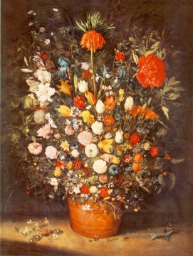 Klassik Blumen Werke - Bouquet 1603 Jan Brueghel the Elder Blume
