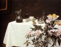 Still Life Corner Of A Table Henri Fantin Latour Blume