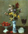 Still Life The Engagement 1869 Henri Fantin Latour Blume