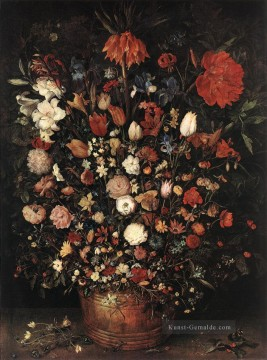 Klassik Blumen Werke - The Great Bouquet Jan Brueghel the Elder Blume