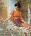 Summer Blumen 1903 Neoclassicist Dame John William Godward