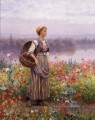 The Blume girl Landfrau Daniel Ridgway Knight