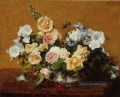 Bouquet of Roses and Other Blumen Henri Fantin Latour