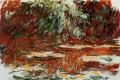 The Water Lily Pond 1919 Claude Monet impressionistische Blumen