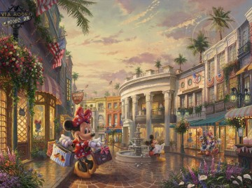 Minnie Kunst - Minnie rockt die Punkte am Rodeo Drive Disney