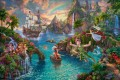 Disney Peter Pan nie landen Disney