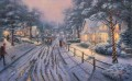 Heimatort Christmas Memories Thomas Kinkade kinder