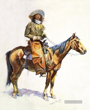 Arizona Künstler - Arizona Kuhjunge 1901 Frederic Remington Indiana Cowboy