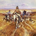 When the Plains Were His Indians Charles Marion Russell Indianer