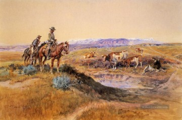 marion - Over Cowboy Charles Marion Russell Indianer Arbeitete