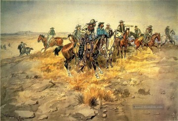 marion - die Alarmglocke 1898 Charles Marion Russell Indiana Cowboy